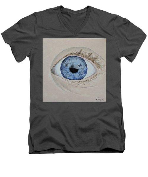 ...it Begins Men's V-Neck T-Shirt