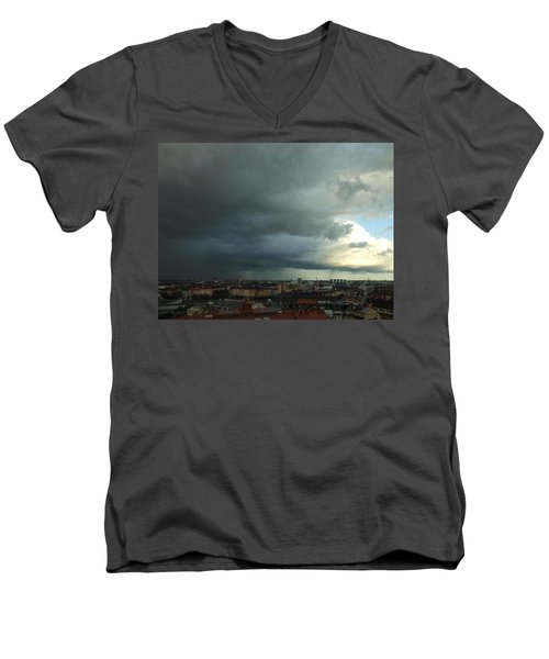 Men's V-Neck T-Shirt featuring the photograph It Gets Better by Ivana Westin