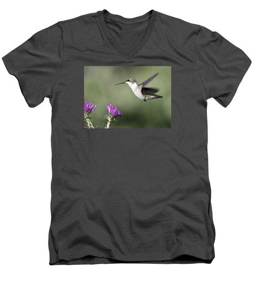 It Is A Small World Men's V-Neck T-Shirt by Stephen Flint