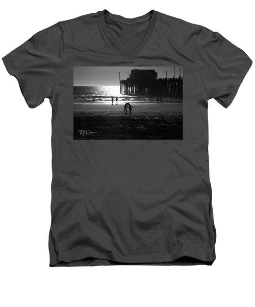 It Takes Two Men's V-Neck T-Shirt