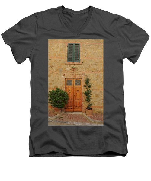 Italy - Door Nine Men's V-Neck T-Shirt