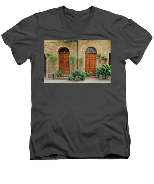 Italy - Door Seventeen Men's V-Neck T-Shirt