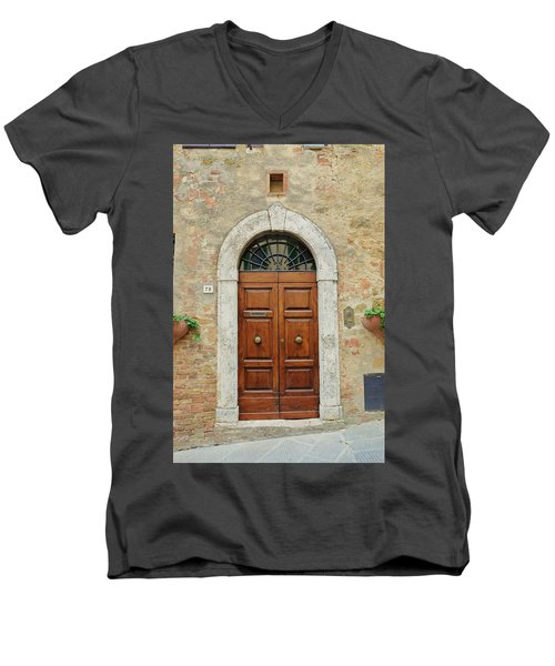 Italy - Door Twelve Men's V-Neck T-Shirt