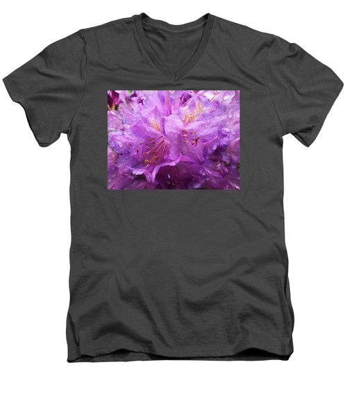 It's A Rainy Day Men's V-Neck T-Shirt