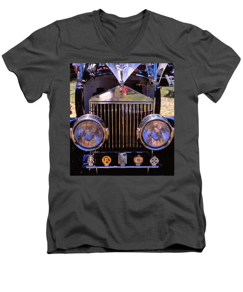 It's A Rolls Men's V-Neck T-Shirt