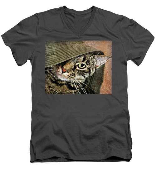 It's All About Me Men's V-Neck T-Shirt by Kathy M Krause
