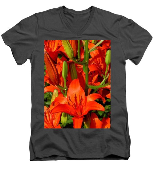 It's All About Red Men's V-Neck T-Shirt