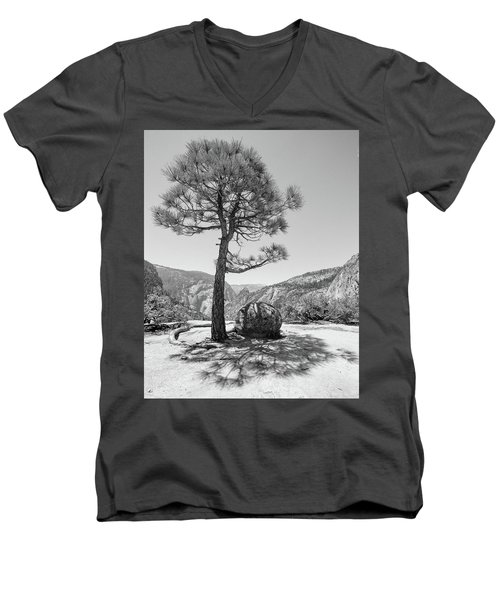 It's Between Them Men's V-Neck T-Shirt by Ryan Weddle