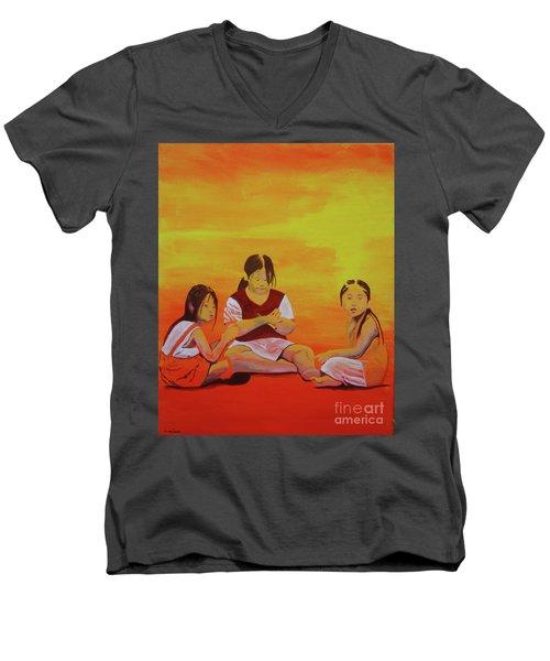 It's Called Global Warming Men's V-Neck T-Shirt