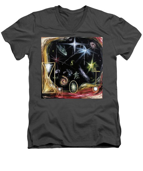 It's Full Of Stars  Men's V-Neck T-Shirt