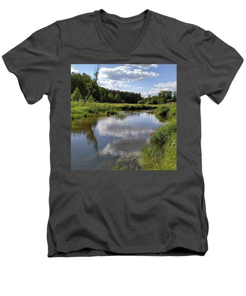 It's So Calming Here In Odrzywol Men's V-Neck T-Shirt