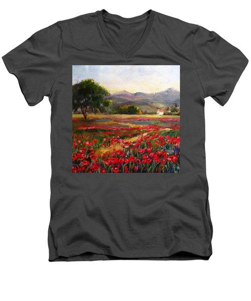 It's Worth A Try...i Need Your Votes! Men's V-Neck T-Shirt