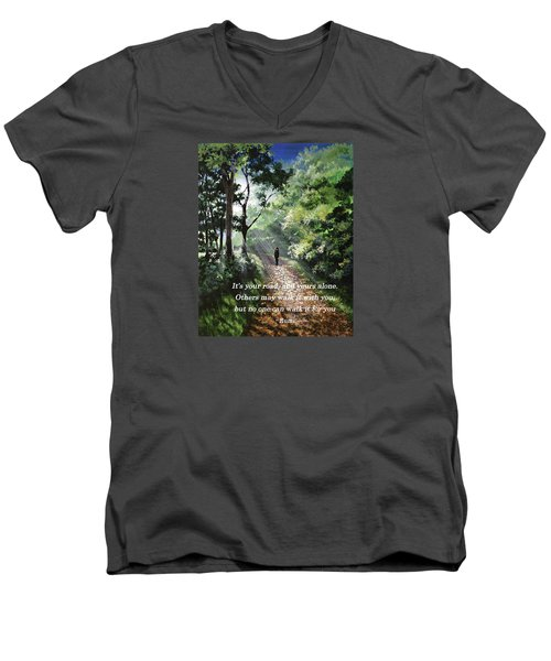 It's Your Road Men's V-Neck T-Shirt