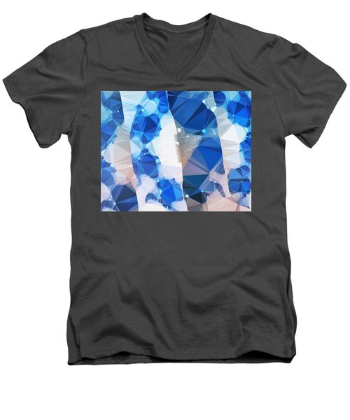 I've Got The Blues  Men's V-Neck T-Shirt by Sandy Taylor