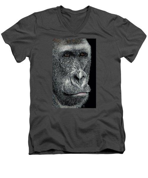 Jabari Men's V-Neck T-Shirt