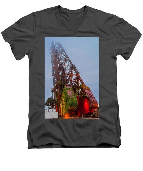 Jack Knife Bridge Men's V-Neck T-Shirt
