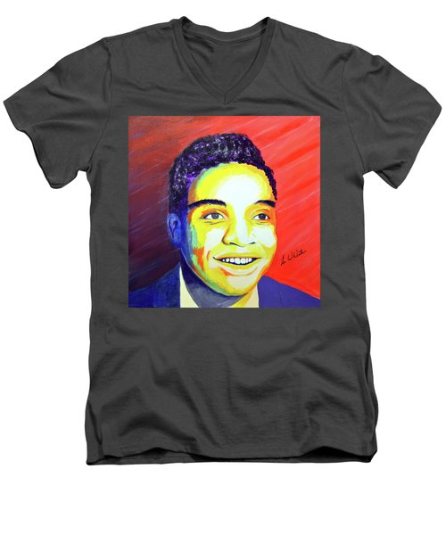 Jackie Wilson Men's V-Neck T-Shirt
