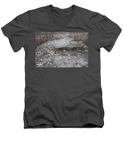 Jackson Lock Detail 2 Men's V-Neck T-Shirt