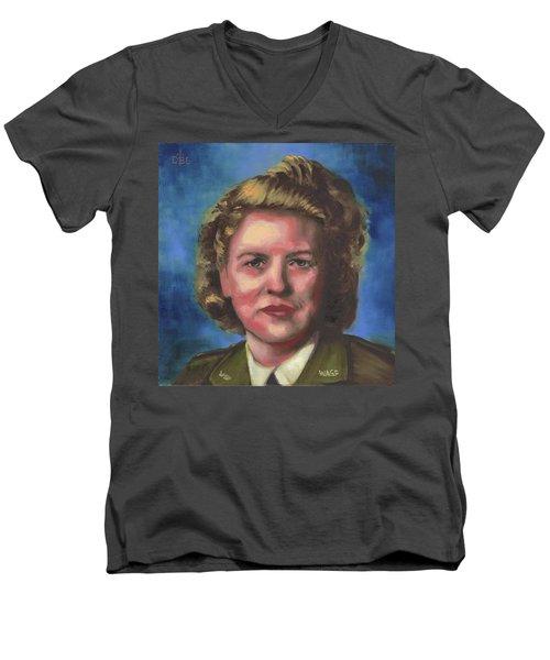 Jacqueline Cochran Men's V-Neck T-Shirt