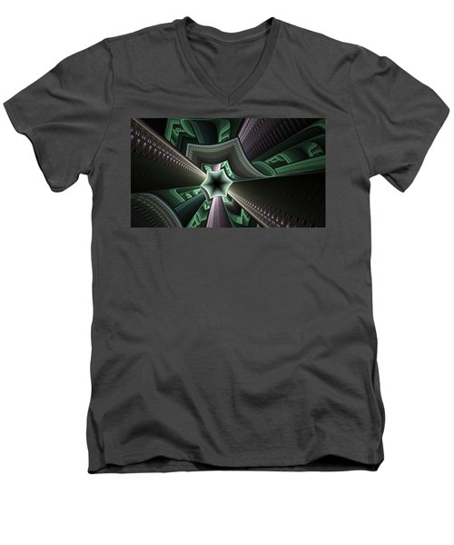 Jade Empress Men's V-Neck T-Shirt