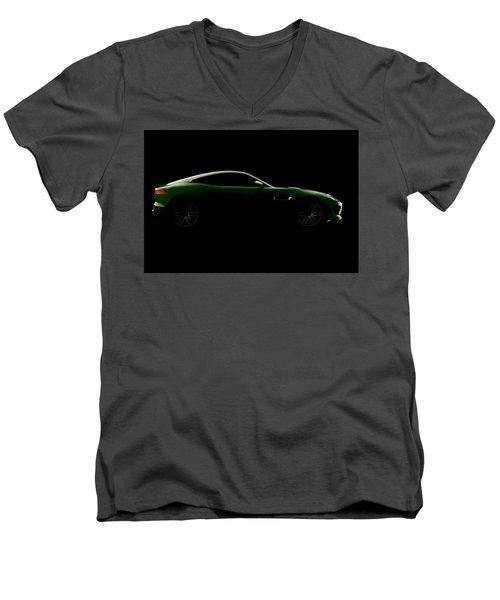 Jaguar F-type - Side View Men's V-Neck T-Shirt