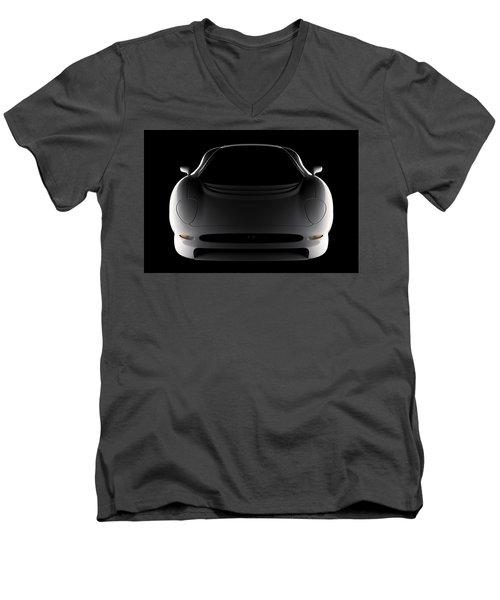 Jaguar Xj220 - Front View Men's V-Neck T-Shirt