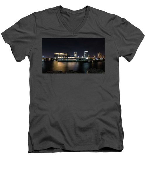 Jamaica Bay Men's V-Neck T-Shirt