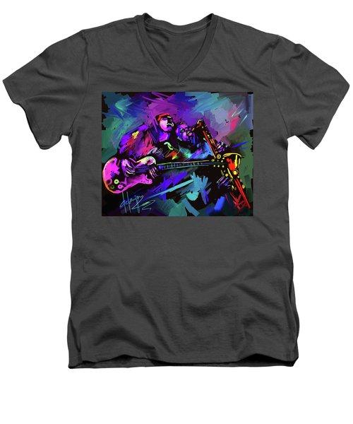 Jammin' The Funk Men's V-Neck T-Shirt