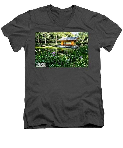 Japanese Gardens II Men's V-Neck T-Shirt