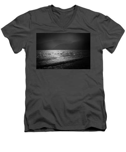Japanese Sea #1940 Men's V-Neck T-Shirt