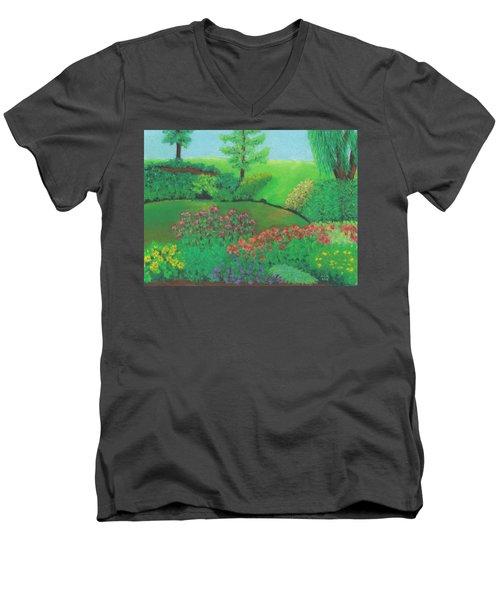 Jardin De Juillet Men's V-Neck T-Shirt