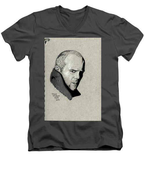 Jason Statham Men's V-Neck T-Shirt