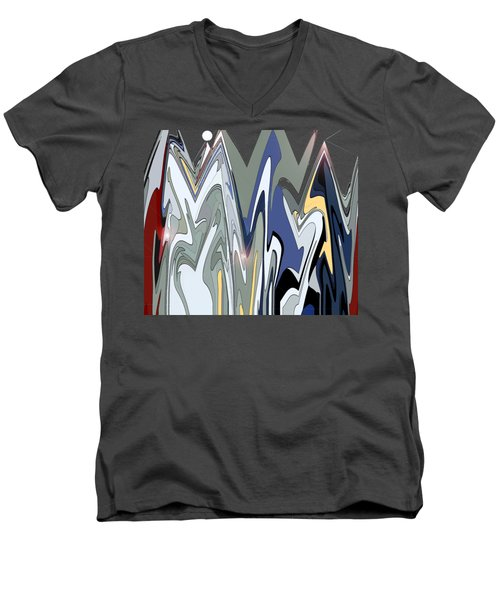 Jazz Band Men's V-Neck T-Shirt