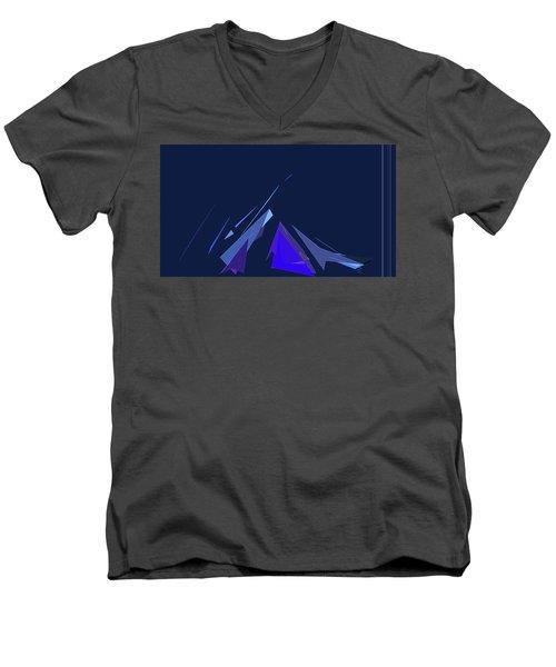 Jazz Campfire Men's V-Neck T-Shirt