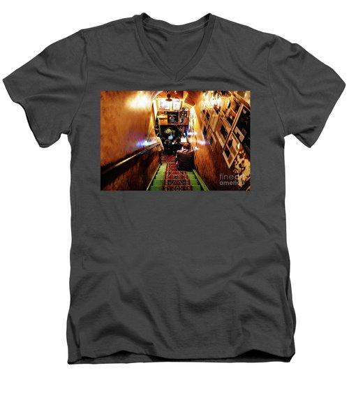 Jazz Club Men's V-Neck T-Shirt