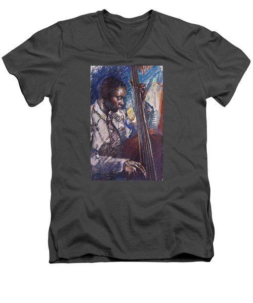 Jazz Man Men's V-Neck T-Shirt