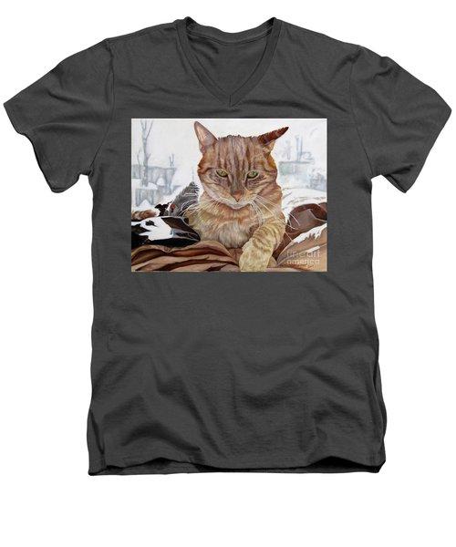 Jeb Men's V-Neck T-Shirt