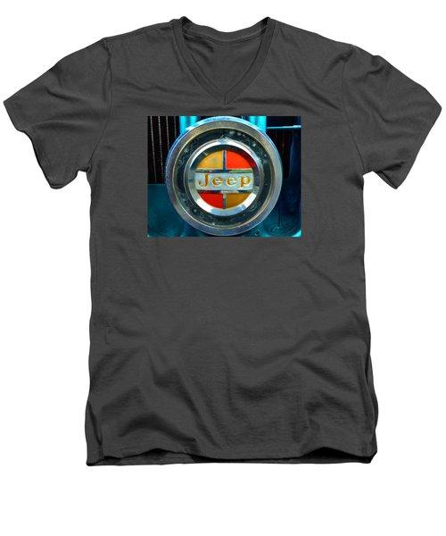 Jeep Logo 192 Men's V-Neck T-Shirt