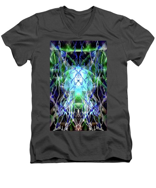 Jelly Weed Collective Men's V-Neck T-Shirt