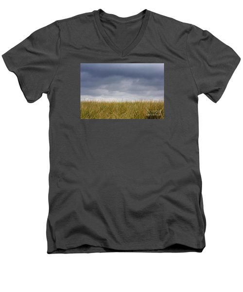 Men's V-Neck T-Shirt featuring the photograph Remember When The Days Were Long by Dana DiPasquale