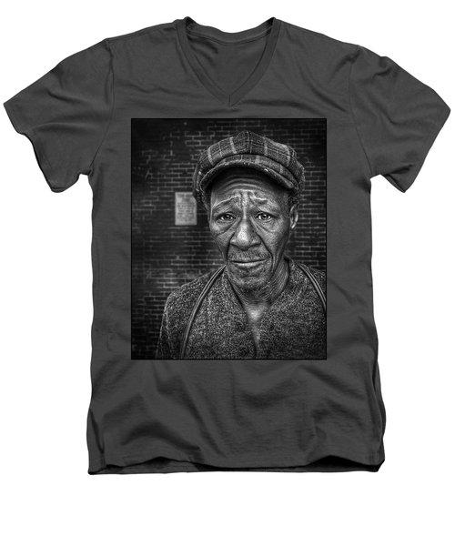 Jesse Bw Men's V-Neck T-Shirt