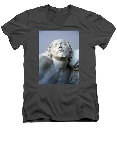 Jesus Men's V-Neck T-Shirt