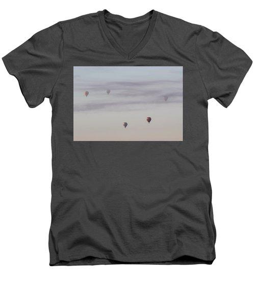 Jet Stream Men's V-Neck T-Shirt