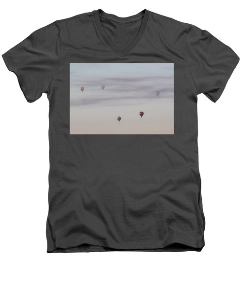 Jet Stream Men's V-Neck T-Shirt