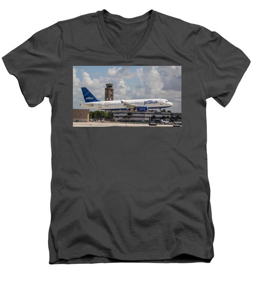 Jetblue Fll Men's V-Neck T-Shirt