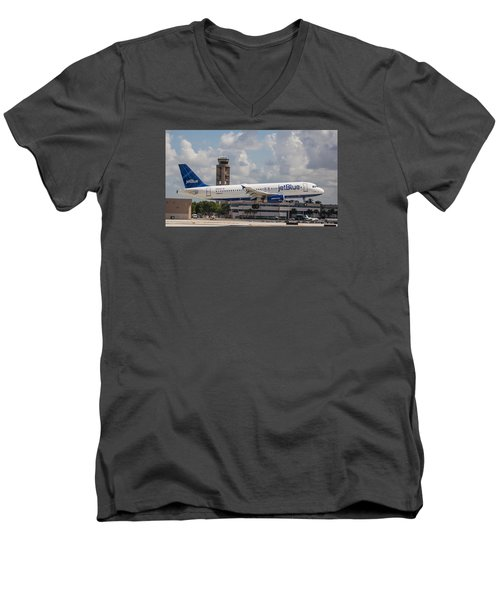 Jetblue Fll Men's V-Neck T-Shirt