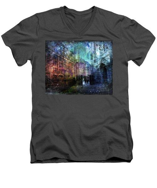 Jewel Night Men's V-Neck T-Shirt