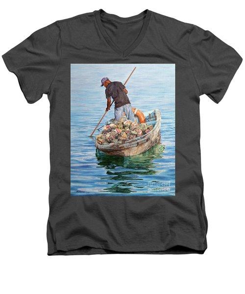 Jewels Of The Sea Men's V-Neck T-Shirt