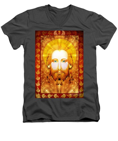 Jezus  Men's V-Neck T-Shirt