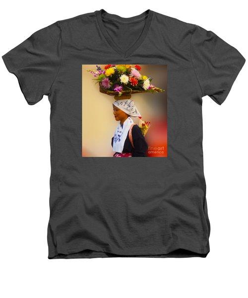 Jidai Matsuri Xxvii Men's V-Neck T-Shirt by Cassandra Buckley